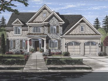 Two-Story House Plan, 046H-0144