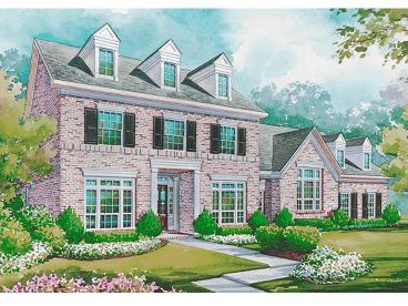 Cape Cod House Plan, 031H-0156