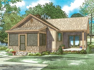 Vacation House Plan, 025H-0357