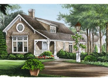 Narrow Lot House Plan, 063H-0125