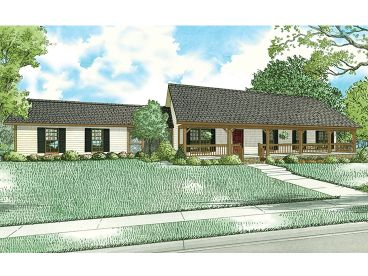 v        It is going to take a while for this one to happen….           Country House Plan, 025H-0360