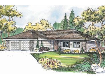 Affordable House Plan, 051H-0091