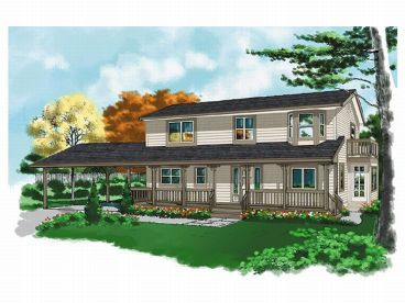 Country House Plan, 010H-0010