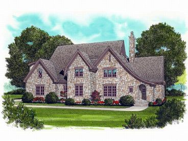 2-Story Home Plan, 029H-0085
