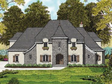 Chateau Home Design, 029H-0082