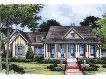 Southern House Design, 043H-0070