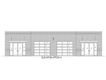 Commercial Building Plan, 062C-0003