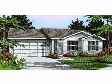 1-Story Home Plan, 026H-0011