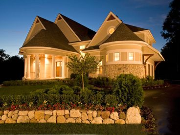 Unique Home Plan Photo, 007H-0140