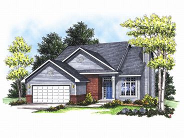 Traditional House Plan, 020H-0007