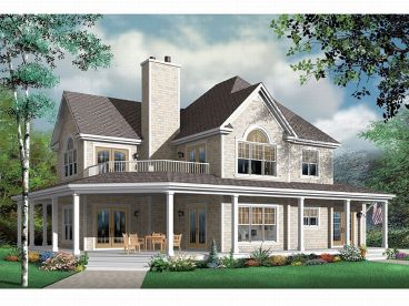 Country House Plan, 027H-0095