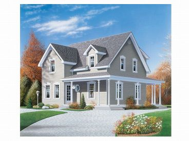 Country House Plan, 027H-0014