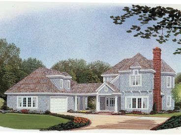 Two-Story House Plan, 054H-0024