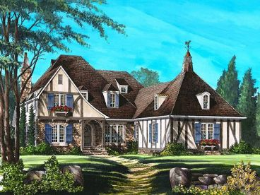 Tudor Home Design, 063H-0131