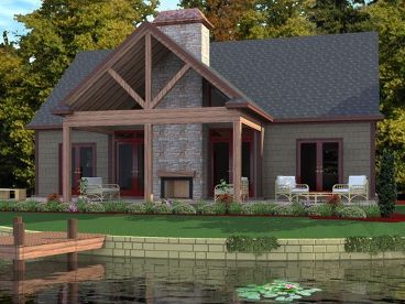 Waterfront House Plan, 073H-0089