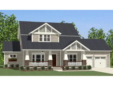 Craftsman Home Plan, 067H-0004