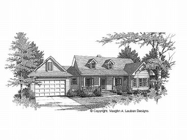 Country House Plan, 004H-0022