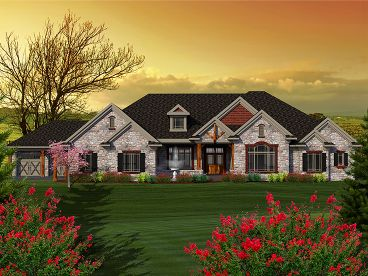 Premier Luxury Home Plan, 020H-0335