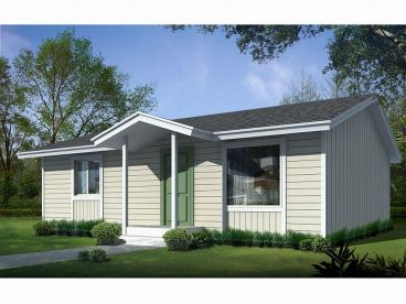 Cottage Home Plan, 026H-0121