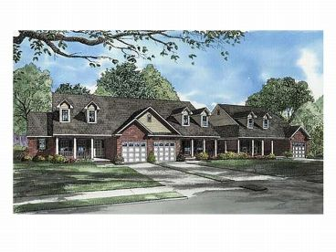 Multi-Family House Plan, 025M-0058