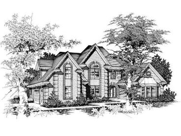Luxurious House Plan, 061H-0128