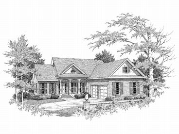 Ranch House Design, 019H-0149