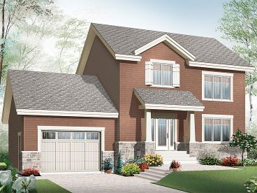 Two-Story Home Design, 027H-0306