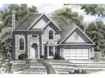 2-Story House Plan, 014H-0045