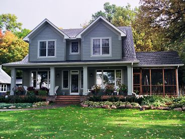 Country Home Photo, 023H-0132
