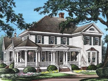 Country Victorian Home, 063H-0133