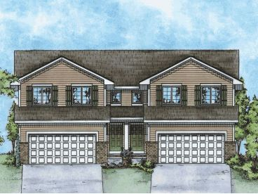 Multi-Family House Plan, 031M-0078