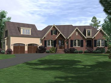 Family House Plan, 080H-0005