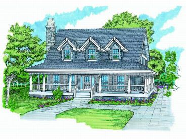 Country House Plan, 032H-0070