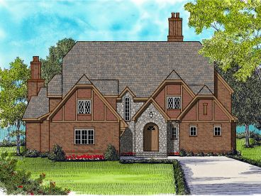 2-Story House Plan, 029H-0129