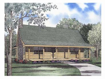 Log House Design, 025L-0033