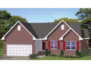 Traditional House Plan, 078H-0027