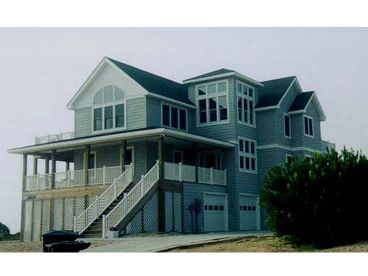 Coastal House Design, 041H-0048