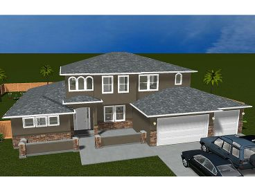 Sunbelt House Plan, 065H-0016