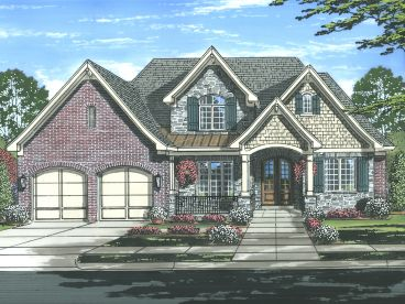 European House Plan, 046H-0143