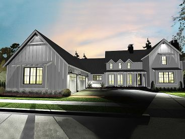 Farmhouse Plan, 050H-0135