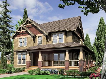 Country Craftsman House, 034H-0207