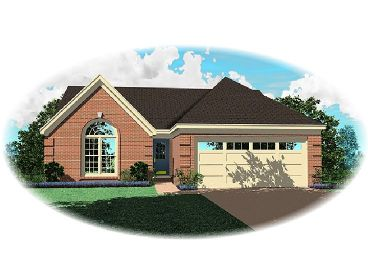 Traditional House Design, 006H-0049