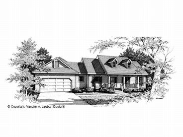 Ranch House Plan, 004H-0039