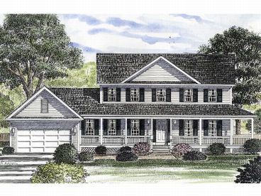 Country Home Plan, 014H-0060