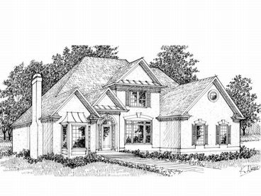 Two-Story Home Plan, 007H-0108