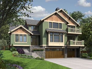 Mountain House Plan, 034H-0239
