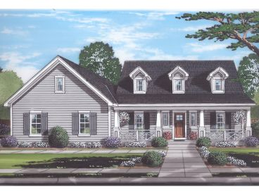 Country House Plan, 046H-0164