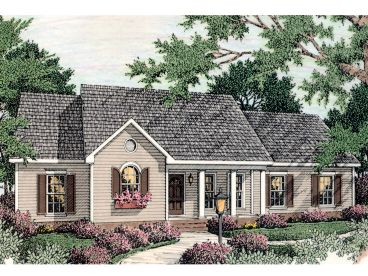 Ranch House Plan, 042H-0028