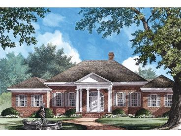 Ranch Home Design, 063H-0110