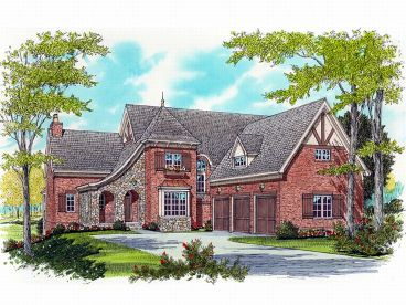 Luxury European House, 029H-0040